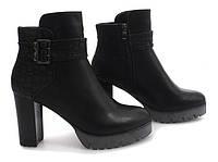 Ботинки ботильоны женские осенние (холодная осень)
