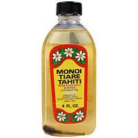 Monoi Tiare Tahiti, Масло для загара с солнцезащитным экраном, 120 мл (4 унции), MON-67326