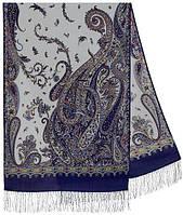 Тысяча и одна ночь 1558-64, павлопосадский шарф-палантин шерстяной с шелковой бахромой   Первый сорт    СКИДКА!!!