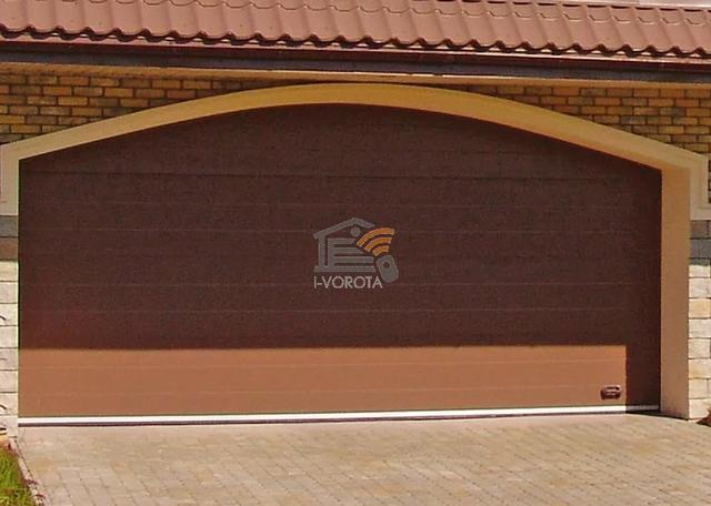 гаражні ворота установка