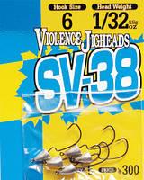 Крючок Decoy Violence Jighead SV-38 3 1.8г, 5шт