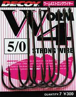 Крючок Decoy Worm 4 Strong Wire 1, 9шт