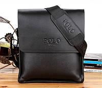 Большая мужская сумка Polo. Размер 27*22см  КС2-5, фото 1