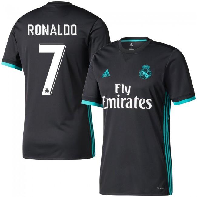 Футбольная форма Реал Мадрид Роналдо (Real Madrid Ronaldo) 2017-2018  Выездная e4c18c8faa5