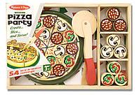 Детский деревянный набор Пицца