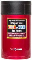 Пищевой термоконтейнер ZOJIRUSHI SW-HAE55RM 0.55 л ц:красный