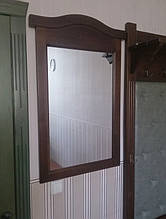 Вешалка с банкеткой и зеркалом 2