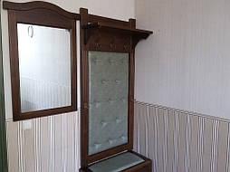 Вешалка с банкеткой и зеркалом 3