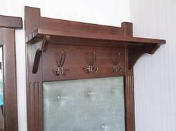 Вешалка с банкеткой и зеркалом 4