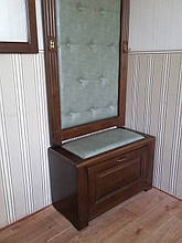 Вешалка с банкеткой и зеркалом 8