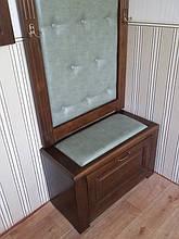 Вешалка с банкеткой и зеркалом 9