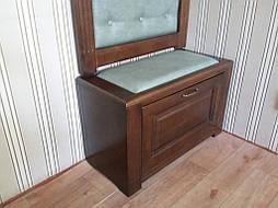 Вешалка с банкеткой и зеркалом 11