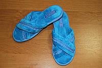 Женские тапочки Белста с открытым носком, махра р-р 36, 38, 39, 40
