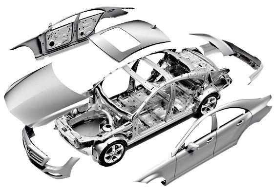 Кузовные детали W210 рестайл