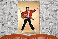 Элвис Пресли. Elvis Presley. 60х40 см. Картина на холсте.