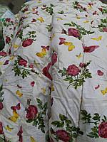 Теплое одеяло из овечьей шерсти 180*210. Хлопок. Цвета разные.