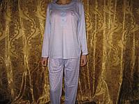 Пижама женская  100% хлопок 3 цвета размер XXL (50-52)