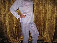 Пижама женская  100% хлопок  3 цвета размер L (46-48)
