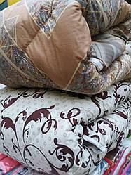 Теплое одеяло из овечьей шерсти 200*220. Хлопок. Цвета разные.