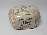 Пряжа merino royal Alize (100% шерсти)