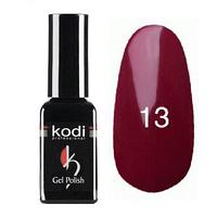 Гель-лак Коdi №13 вишневый, эмаль 8 ml
