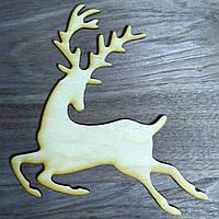 Олень деревянная игрушка