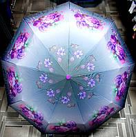 Зонт с системой антиветер полуавтомат №17