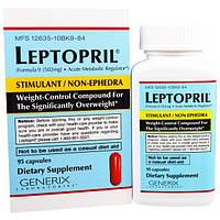 Generix Laboratories, Leptopril, контроль веса, 95 капсул, GEX-12402