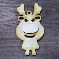 Деревянная игрушка Олень мультяшный