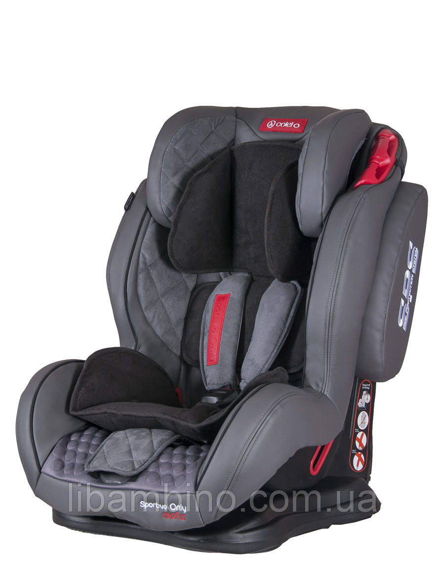 Автокрісло Coletto Sportivo Only Isofix Grey