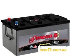 Грузовой аккумулятор 140 Ач Amega (Амега140 Ампер) на Фуру Трактро Тягач