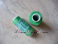 Нитки швейные №716 зеленые 100% полиэстер 400 ярдов