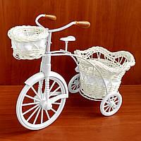 Декоративный велосипед #144 для цветов (21x29 см)