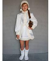 Новогодний карнавальный костюм Снегурочка №2-1 рост 125-140