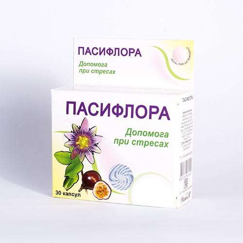 Пассифлора капс. №30 пасифлора