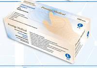Перчатки латексные с пудрой Prestige Medical