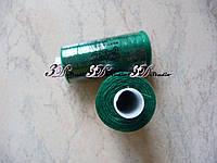Нитки швейные №082 темно-зеленый 100% полиэстер 400 ярдов