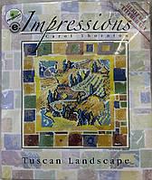 Heritage Stitchcraft Набор для вышивания Tuscan Landscape / Тосканский пейзаж