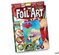 Набор для творчества Аппликация цветной фольгой Foil Art, Danko Toys, FAR-01-02