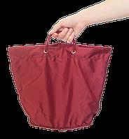 Сумка для покупок/Shopper bag ORGANIZE C008 бордовый