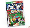 Набор для творчества Аппликация цветной фольгой Foil Art, Danko Toys, FAR-01-04