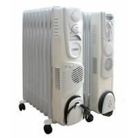 Радиатор масляный Термія Н1024В (с вентилятором)