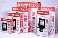 Светодиодный прожектор 10w ECOLUX LED прожектор