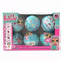 Игровой набор с куклой L.O.L. 1 - серия. Набор 6 шт.