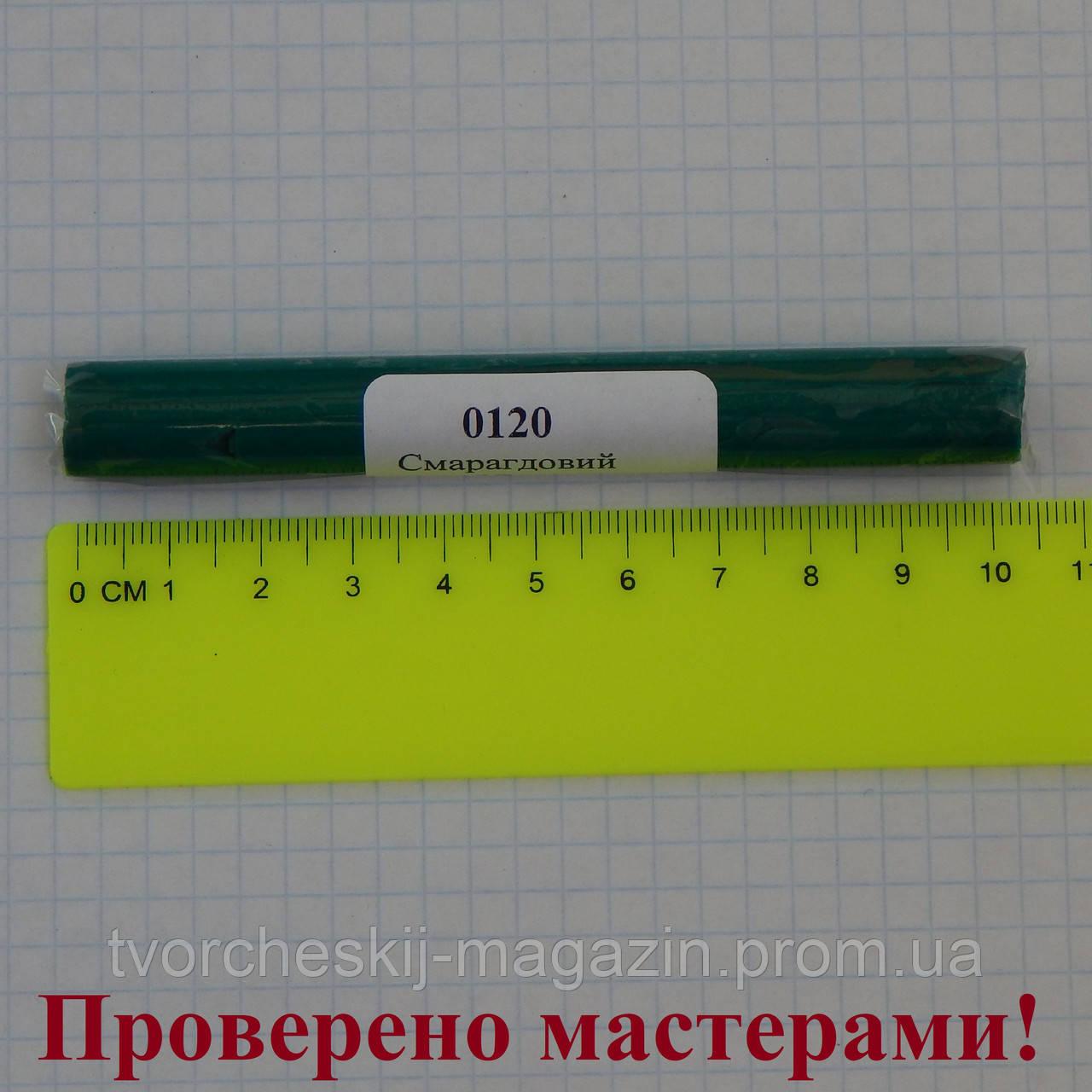 Полимерная глина Пластишка, цвет изумрудный 17 г.
