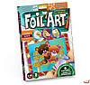 Набор для творчества Аппликация цветной фольгой Foil Art, Danko Toys, FAR-01-08