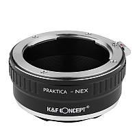 Адаптер переходник Praktica - NEX K&F, фото 1