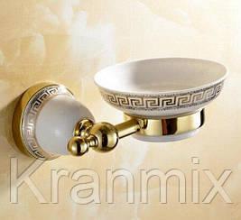 Мыльница для ванной Aquaroom золото