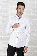 Рубашка приталенная 06-1, фото 1