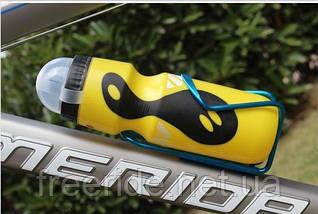 Фляга велосипедная Trek Discovery (желтая) 750 мл, фото 3